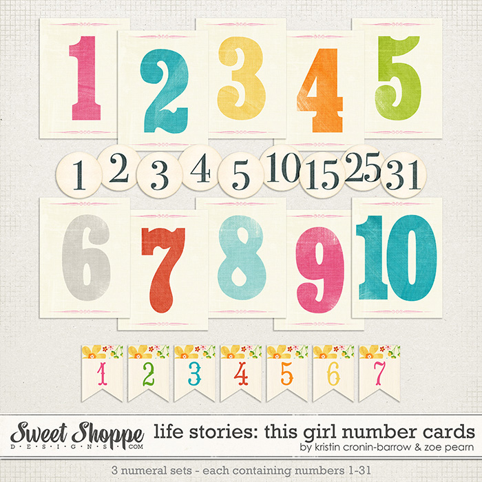 Life Stories: This Girl Numbers by Kristin Cronin-Barrow & Zoe Pearn