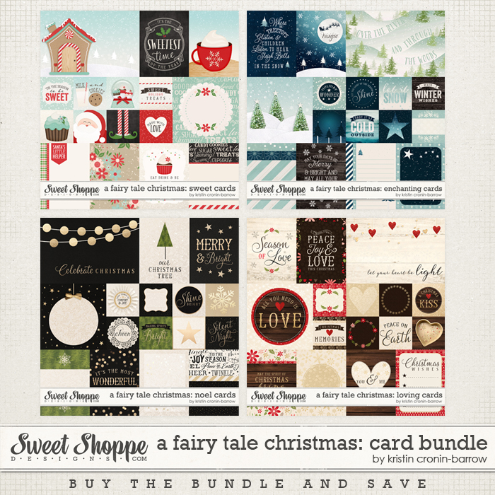 A Fairy Tale Christmas: Card Bundle by Kristin Cronin-Barrow