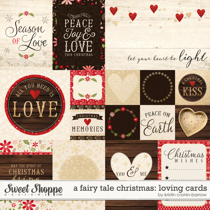 A Fairy Tale Christmas: Loving Cards by Kristin Cronin-Barrow