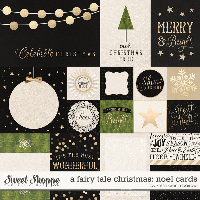 A Fairy Tale Christmas: Noel Cards by Kristin Cronin-Barrow