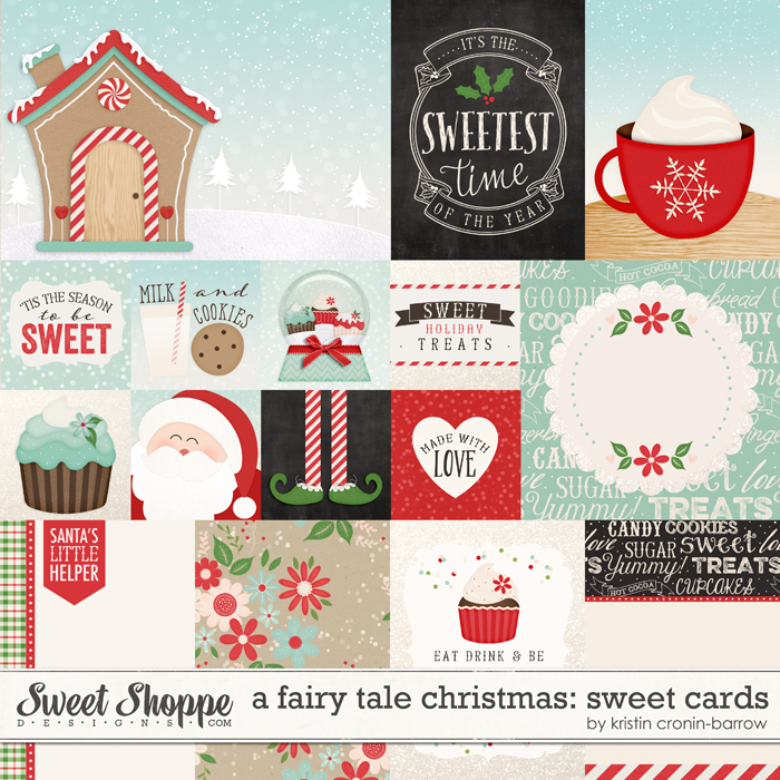A Fairy Tale Christmas: Sweet Cards by Kristin Cronin-Barrow