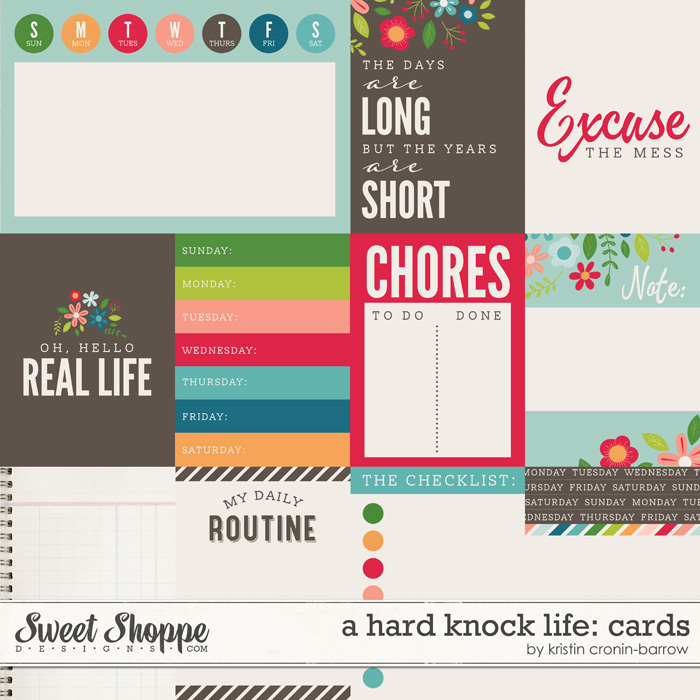A Hard Knock Life: Cards by Kristin Cronin-Barrow