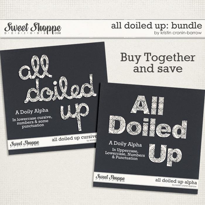 All Doiled Up: Bundle by Kristin Cronin-Barrow