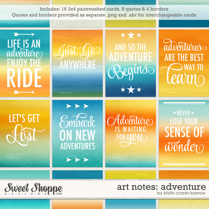 Art Notes: Adventure by Kristin Cronin-Barrow