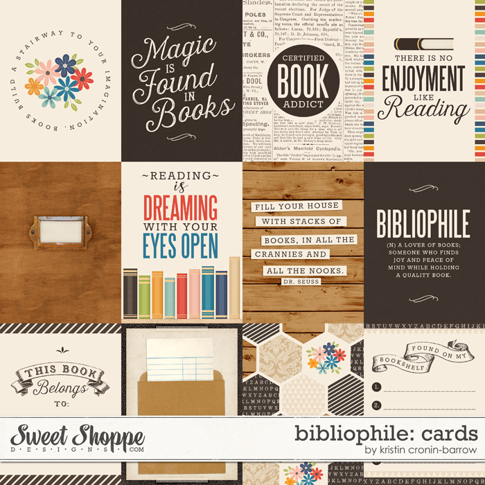 Bibliophile: Cards by Kristin Cronin-Barrow
