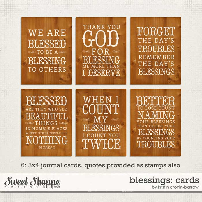 Blessings: Cards by Kristin Cronin-Barrow
