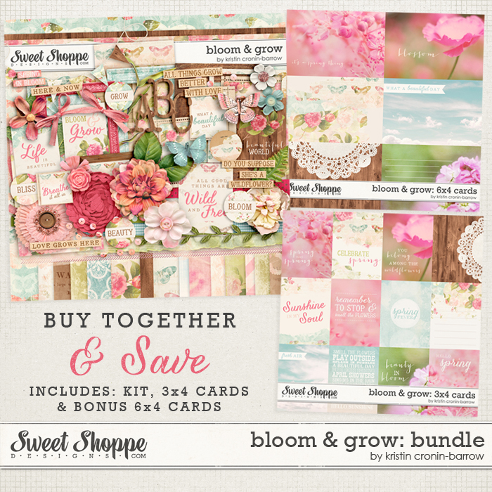 Bloom & Grow Bundle by Kristin Cronin-Barrow