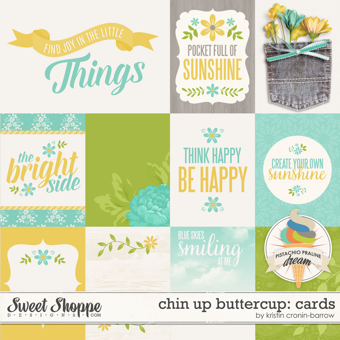 Chin Up Buttercup: Cards by Kristin Cronin-Barrow