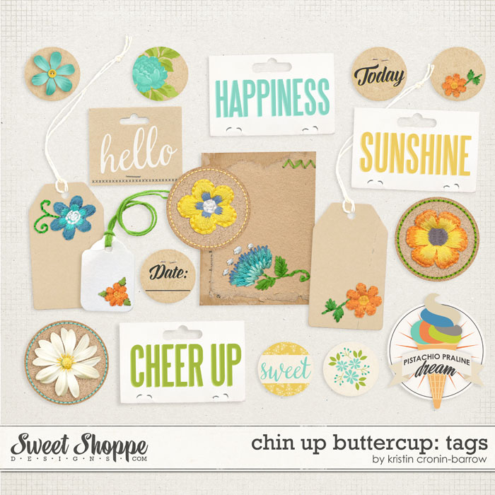 Chin Up Buttercup: Tags by Kristin Cronin-Barrow