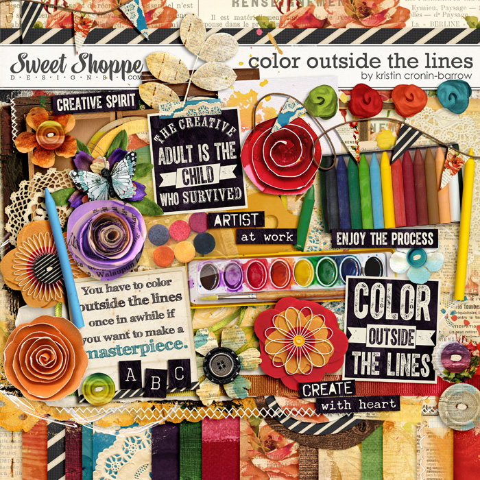 Color Outside the Lines by Kristin Cronin-Barrow