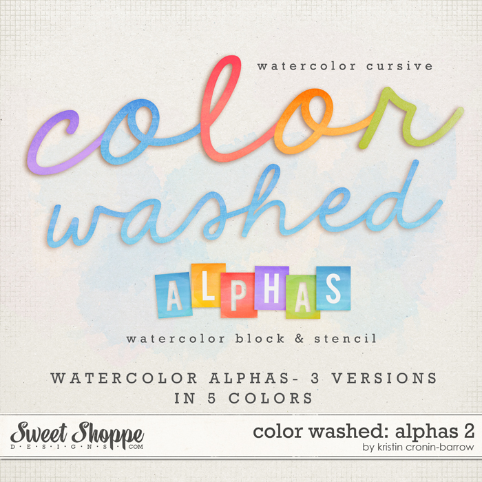 Color Washed: Alphas 2 by Kristin Cronin-Barrow