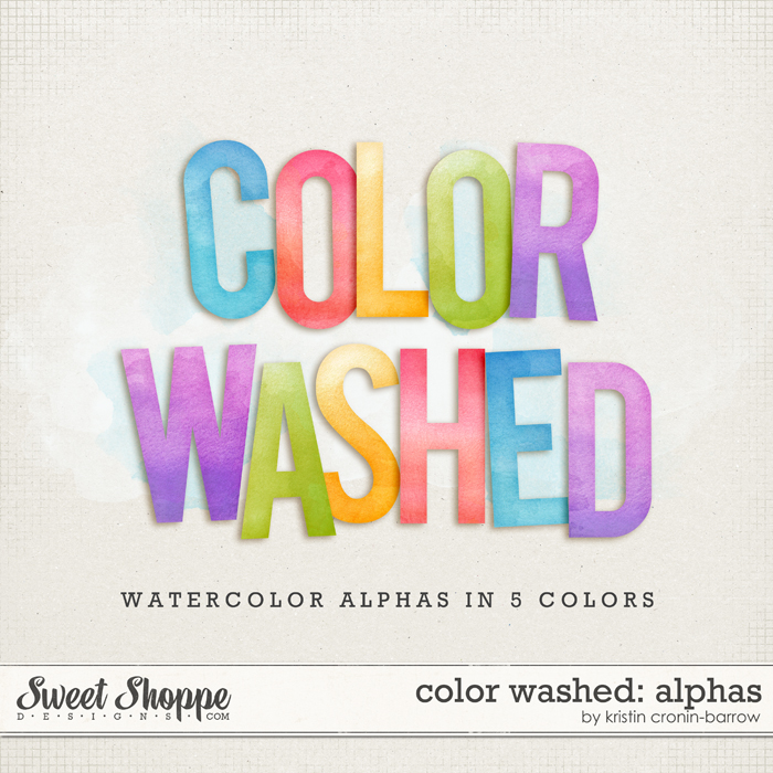 Color Washed: Alphas by Kristin Cronin-Barrow