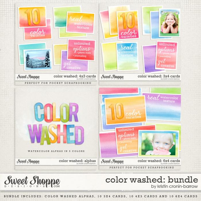 Color Washed: Bundle by Kristin Cronin-Barrow