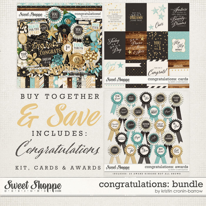 Congratulations: Bundle by Kristin Cronin-Barrow