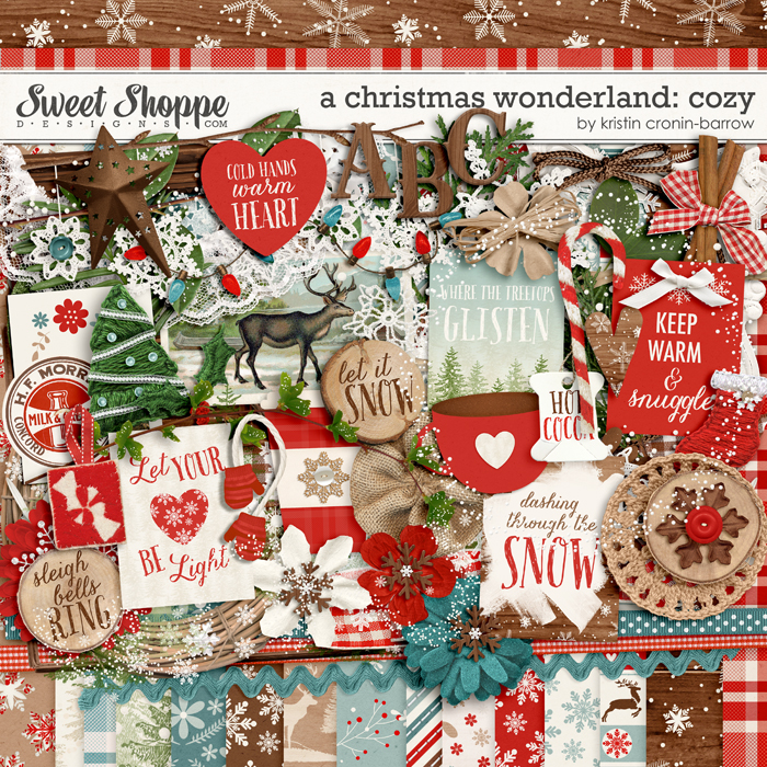A Christmas Wonderland: Cozy by Kristin Cronin-Barrow