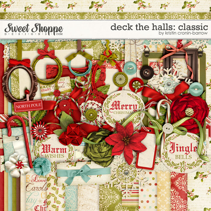Deck the Halls: Classic by Kristin Cronin-Barrow