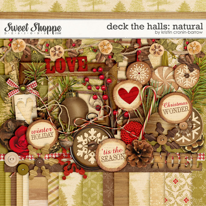 Deck the Halls: Natural by Kristin Cronin-Barrow