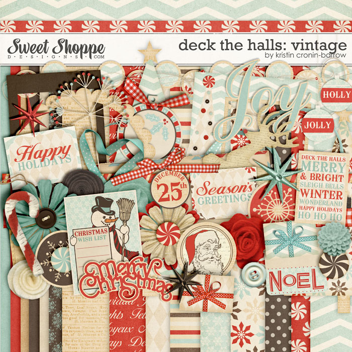 Deck the Halls: Vintage by Kristin Cronin-Barrow