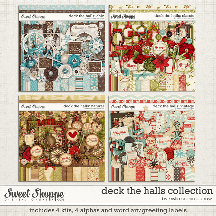 Deck The Halls: Collection by Kristin Cronin-Barrow