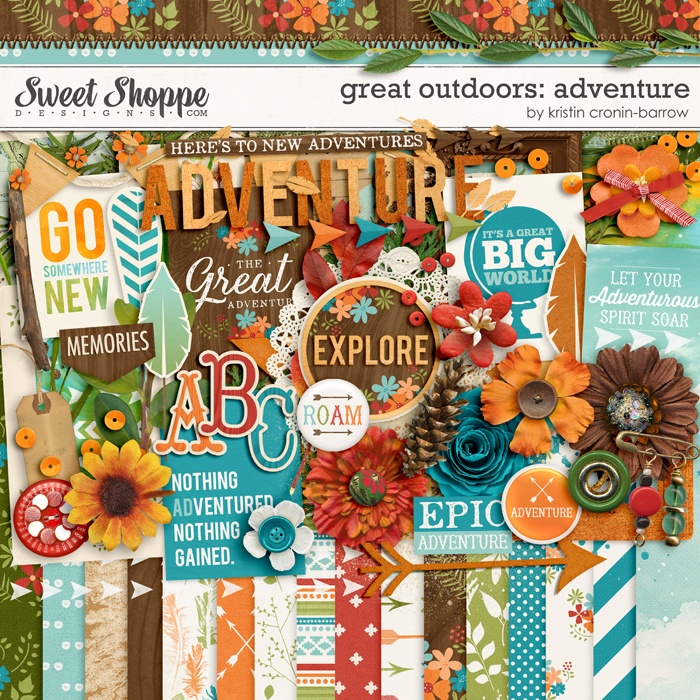 Great Outdoors: Adventure by Kristin Cronin-Barrow