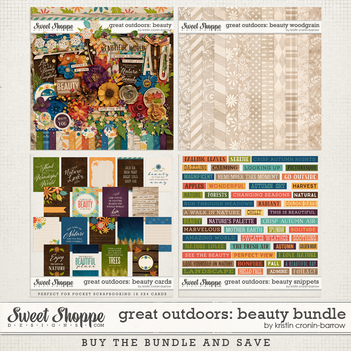 Great Outdoors: Beauty Bundlle by Kristin Cronin-Barrow