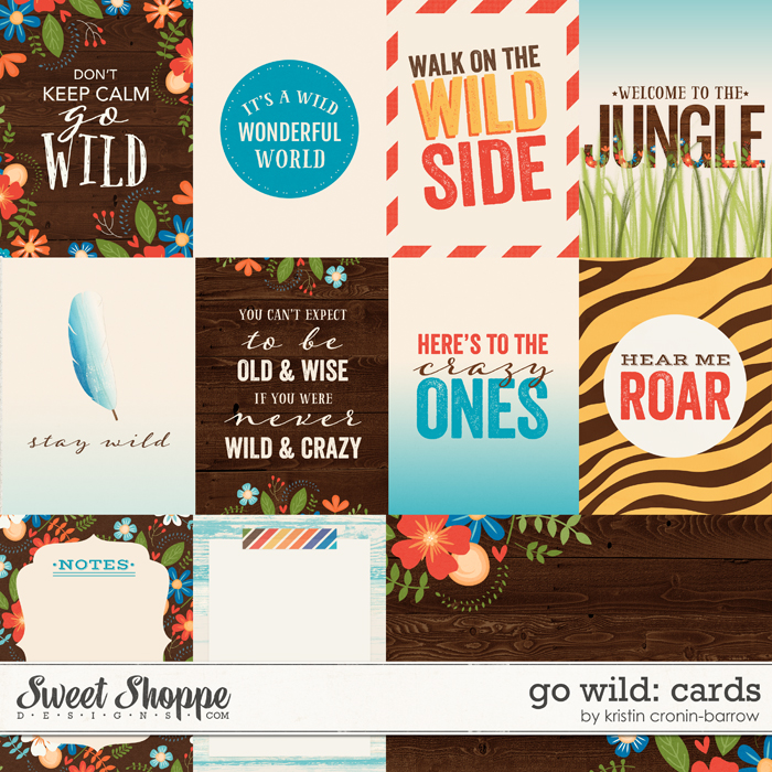 Go Wild: Cards by Kristin Cronin-Barrow