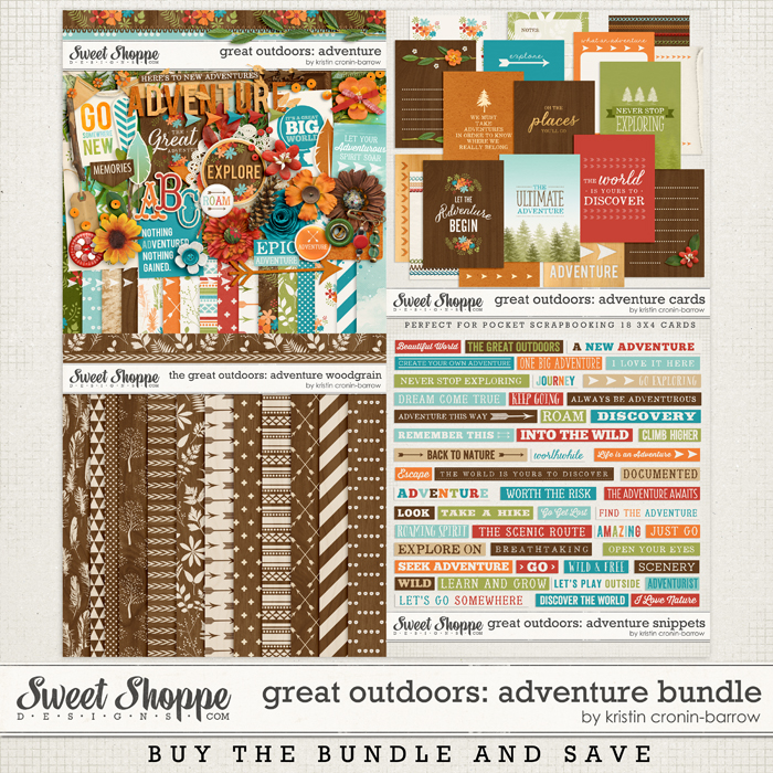 Great Outdoors: Adventure Bundle by Kristin Cronin-Barrow