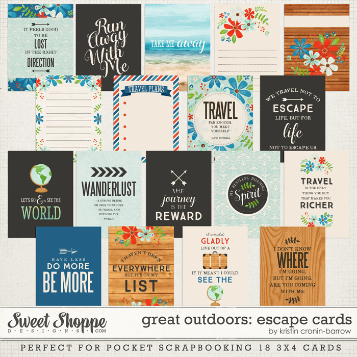 Great Outdoors: Escape Cards by Kristin Cronin-Barrow
