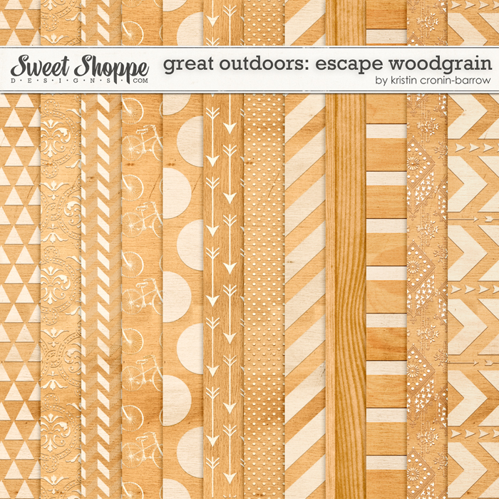 Great Outdoors: Escape Woodgrain By Kristin Cronin-Barrow