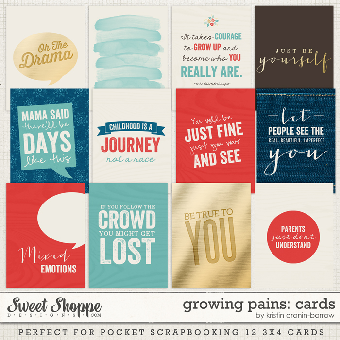 Growing Pains: Cards by Kristin Cronin-Barrow