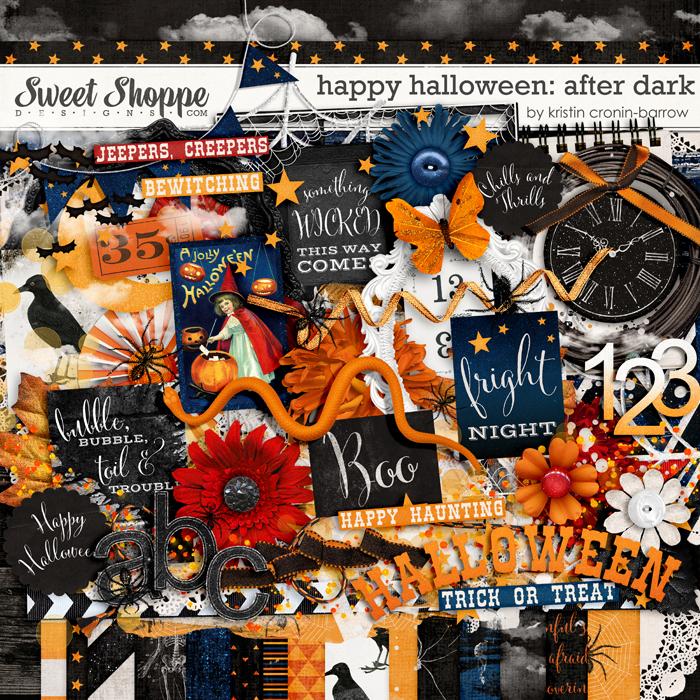 Happy Halloween: After Dark by Kristin Cronin-Barrow