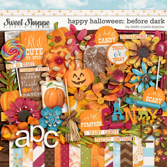 Happy Halloween: Before Dark by Kristin Cronin-Barrow