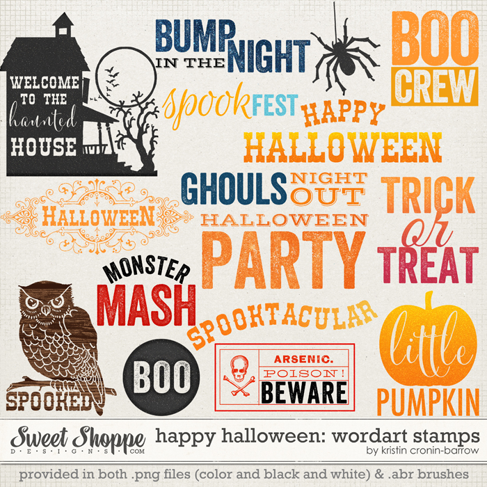 Happy Halloween: Stamps by Kristin Cronin-Barrow