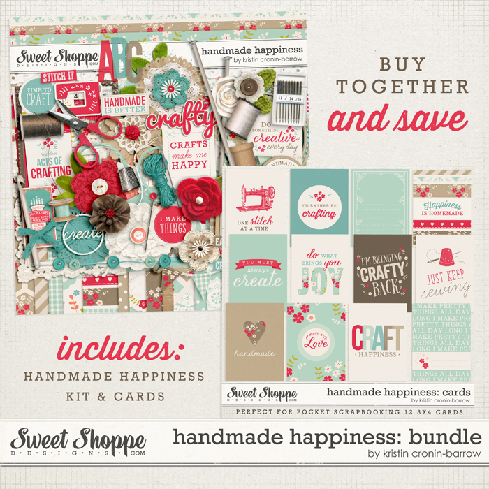 Handmade Happiness Bundle by Kristin Cronin-Barrow