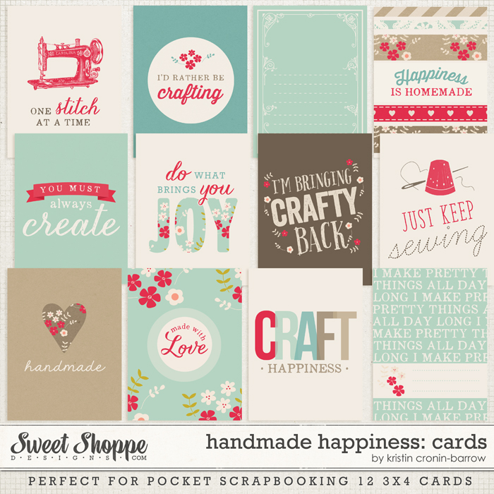 Handmade Happiness Cards by Kristin Cronin-Barrow
