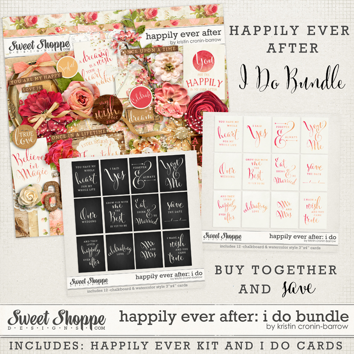 Happily Ever After: I Do bundle by Kristin Cronin-Barrow