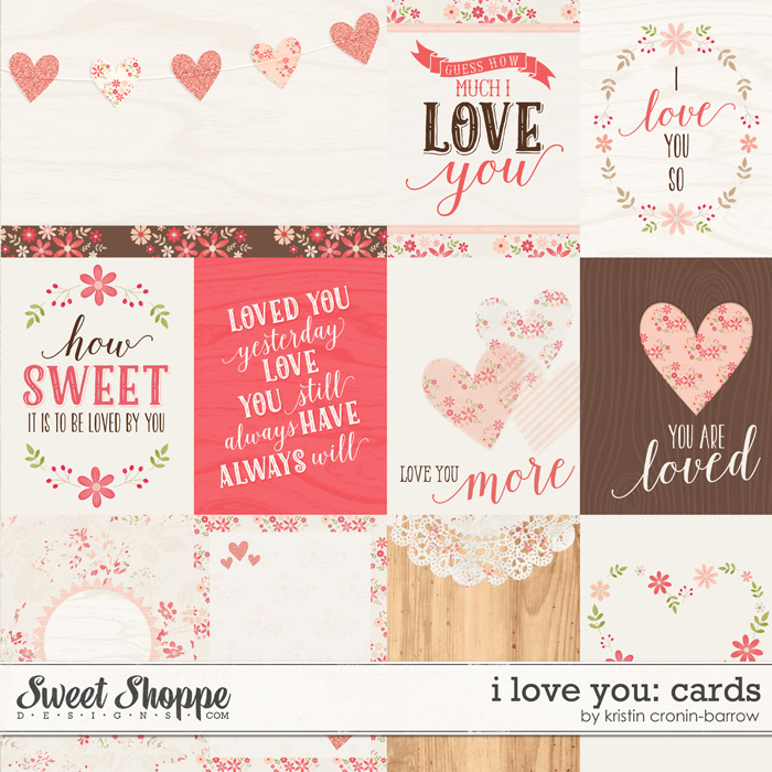 I Love You: Cards by Kristin Cronin-Barrow