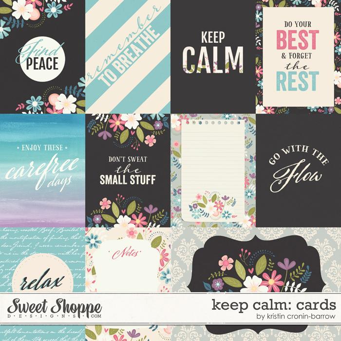 Keep Calm: Cards by Kristin Cronin-Barrow