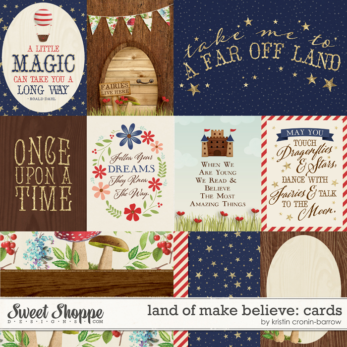 Land of Make Believe: Cards by Kristin Cronin-Barrow