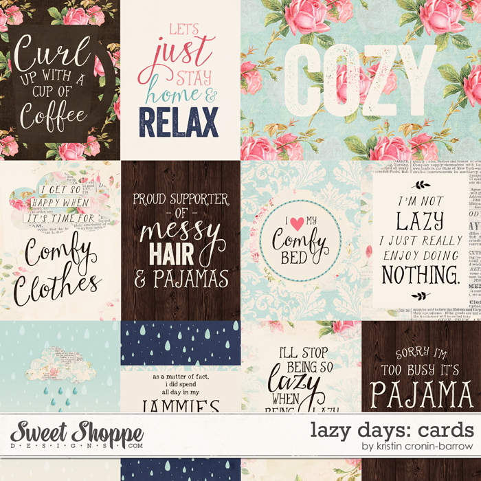 Lazy Days: Cards by Kristin Cronin-Barrow