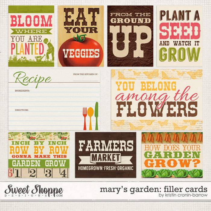 Mary's Garden: Cards