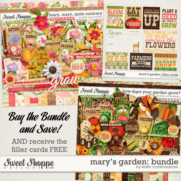 Mary's Garden: Bundle
