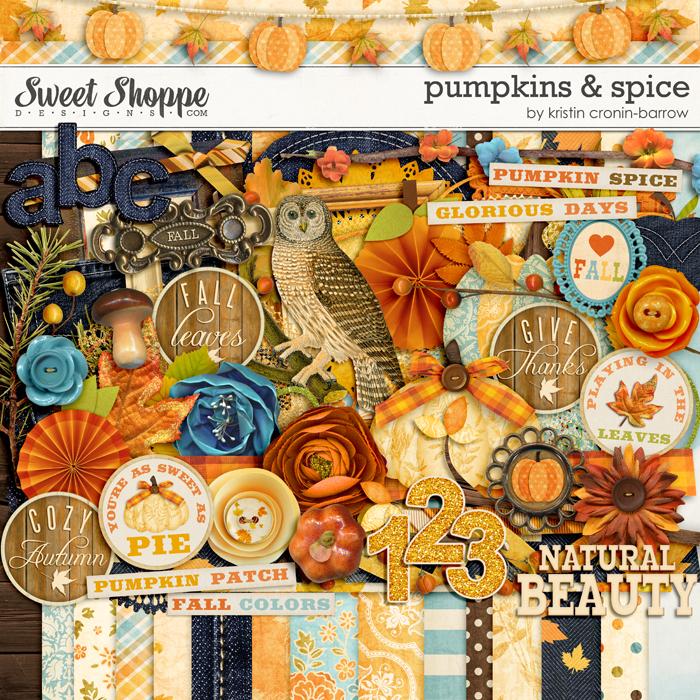 Pumpkins & Spice by Kristin Cronin-barrow