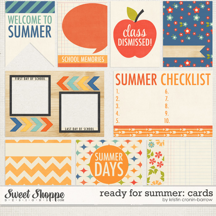Ready for Summer Cards: by Kristin Cronin-Barrow