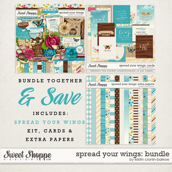 Spread Your Wings: Bundle by Kristin Cronin Barrow