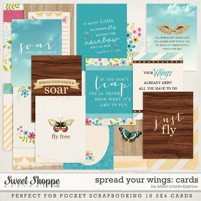 Spread Your Wings: Cards by Kristin Cronin-Barrow