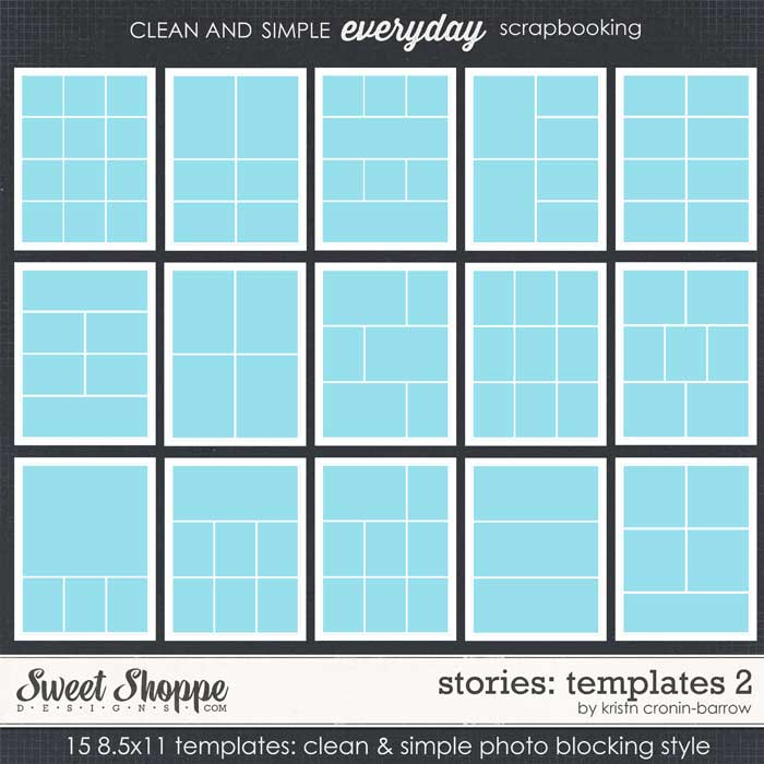 Stories Templates 2 by Kristin Cronin-Barrow
