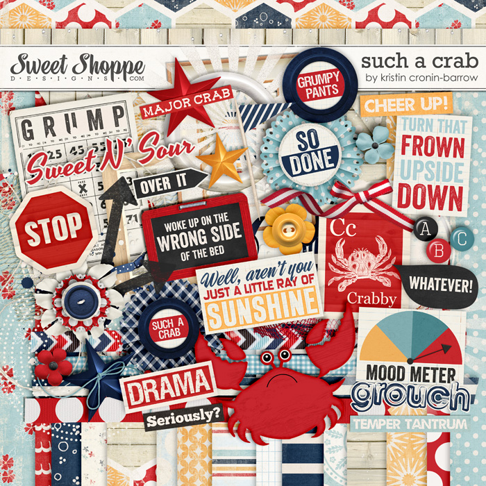Such a Crab by Kristin Cronin-Barrow