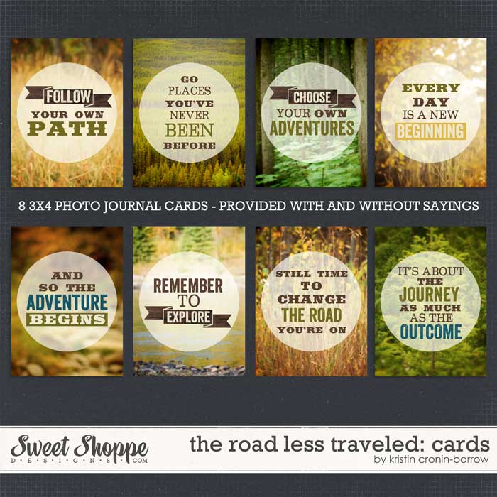 The Road Less Traveled: Cards by Kristin Cronin-Barrow