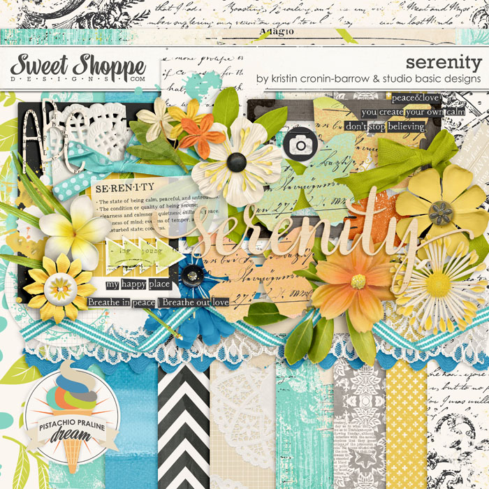Serenity by Kristin Cronin-Barrow and Studio Basic Designs